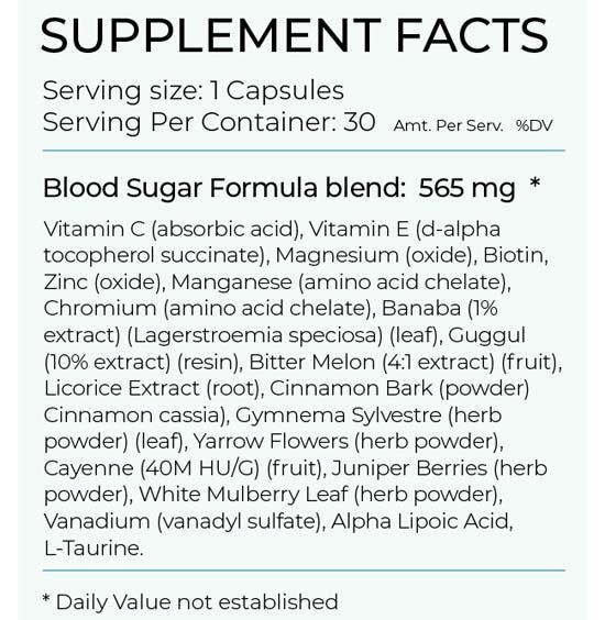 Blood Sugar Formula Review