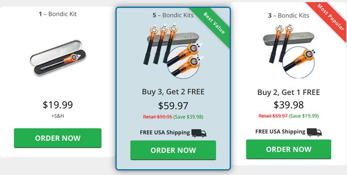 order bondic