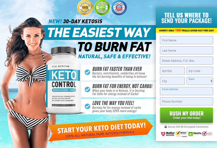 Vital Nutrition Keto Control Review